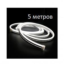Гибкий неон 12V 9.6W Холодный белый