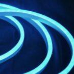 Гибкий неон 12V 9.6W ледяной синий